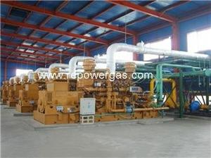 Customized Design Gas Power Plant