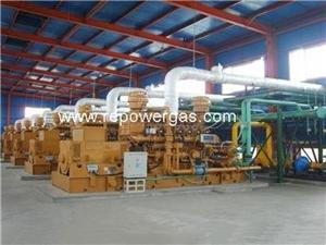 Customized Design Gas Power Plant