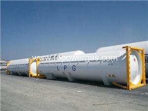 LPG 40ft Tank Container