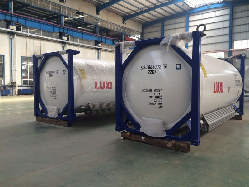 Supply ADR Certified LNG 20FT ISO Container,Produce T75 LNG storage tank container Price