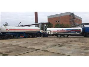 Cryogenic LNG Mobile Refilling Trailer