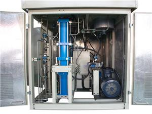 Hydraulic Piston Gas Compressor