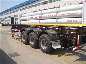 ISO Standard 40ft CNG Jumbo Tube Container
