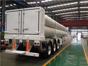 ISO11120 Standard H2 Gas Tube Skid