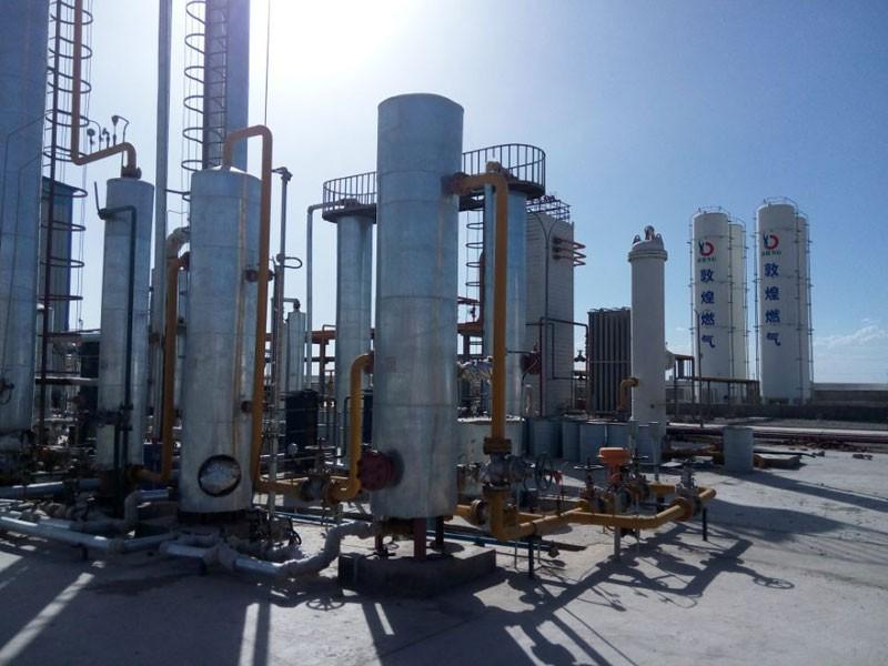 Дневен капацитет на завода за LNG 100000NM3 / D