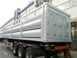 H2 Трейлър за газови тръби