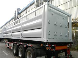 Compressed Helium Gas Tube Trailer