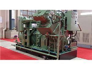 Gas Compressor For Hydrogen Gas