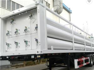 Industrial Grade Helium Gas 40ft Container