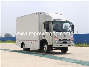 Вътрешен градски логистичен електрически камион