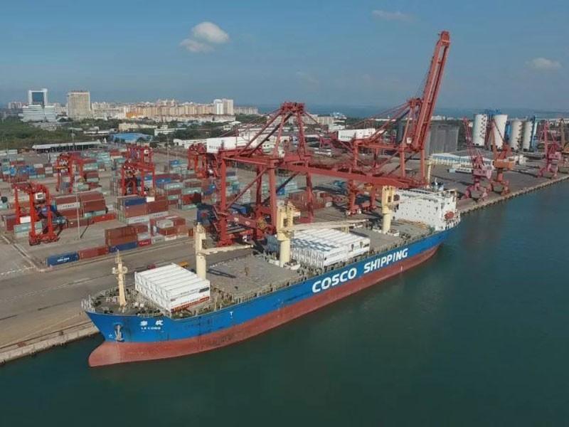 Proiectul de transport al containerelor GNL