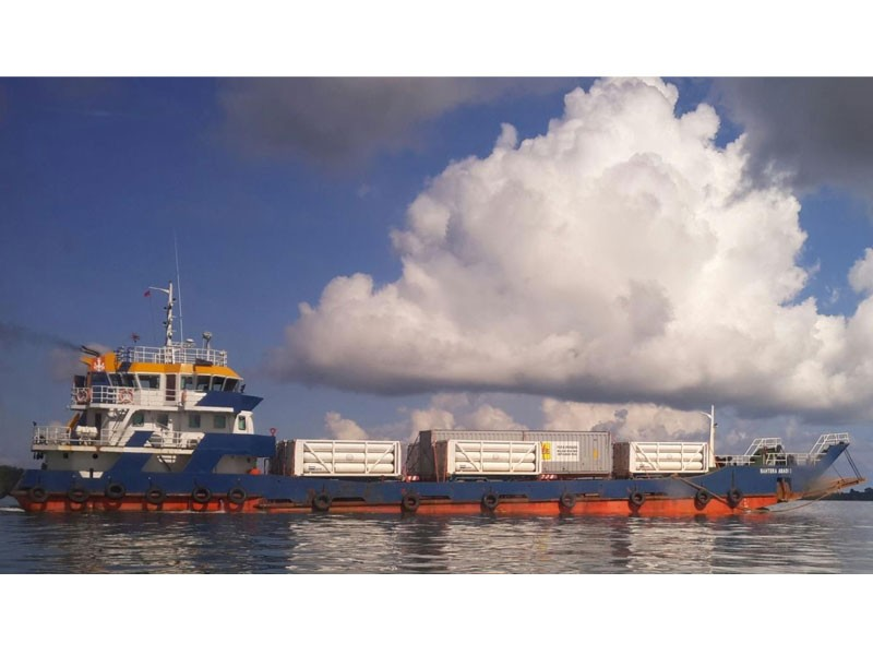 Marine CNG transportation project