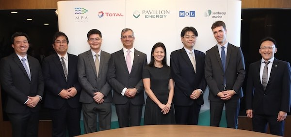 Singapore's Pavilion Energy Charters First LNG Bunker Vessel