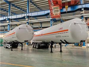 ASME Certified LNG Tank Semi-trailer 52.6M3