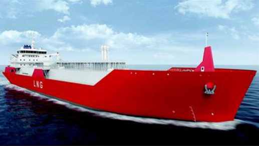LNG Mini-carrier 3000M3