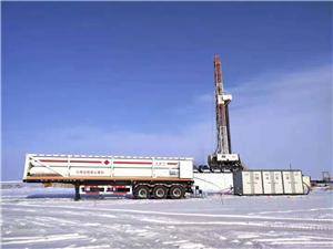 Gas generator for drilling plantform