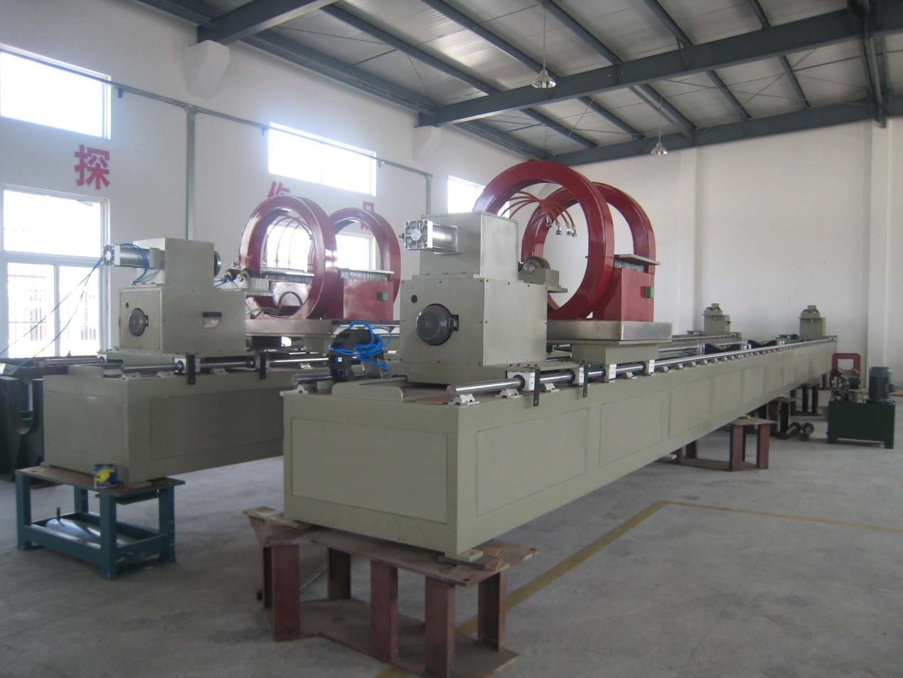jumbo tube inspection station