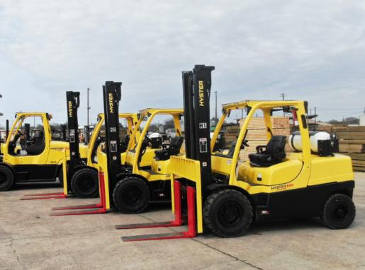 la distribution américaine et entreprise de fabrication passe chariots élévateurs à fourche CNG