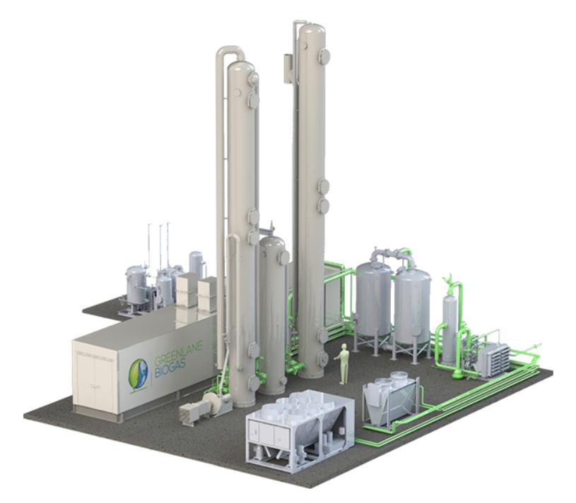 开拓性的可再生天然气项目将取代巴西船队的柴油