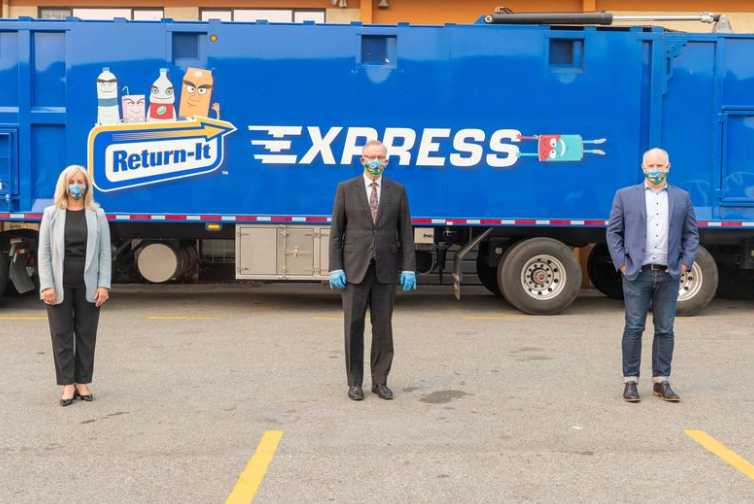 Beverage container recycling firm adds Canada's first CNG hybrid truck
