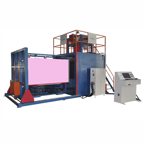 Automatic vacuum foaming machines