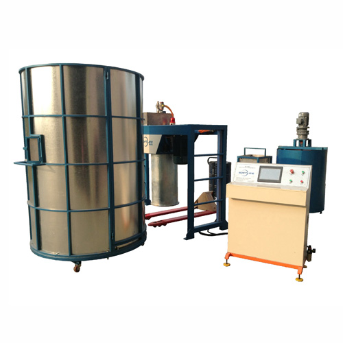 Semi automatic foaming machine