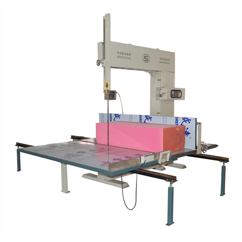 Foam vertical cutting machine