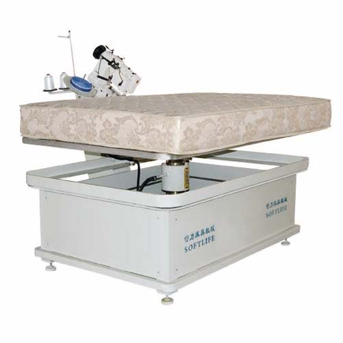 Mattress round side machine