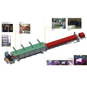 Cnc continuous foaming production line