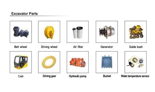 Supply Excavator Spare Parts Factory Quotes - OEM
