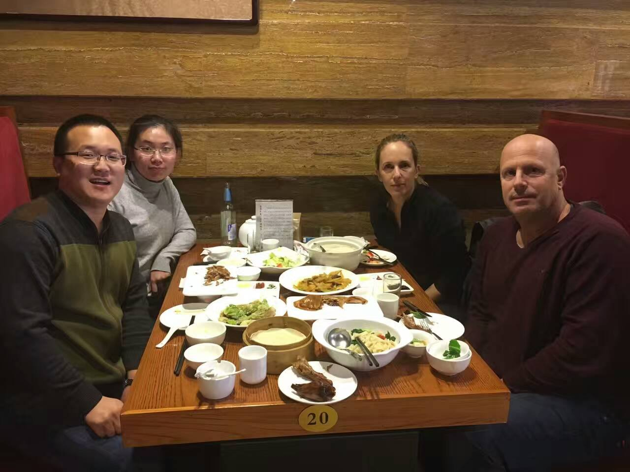 Foreign Customers Visits