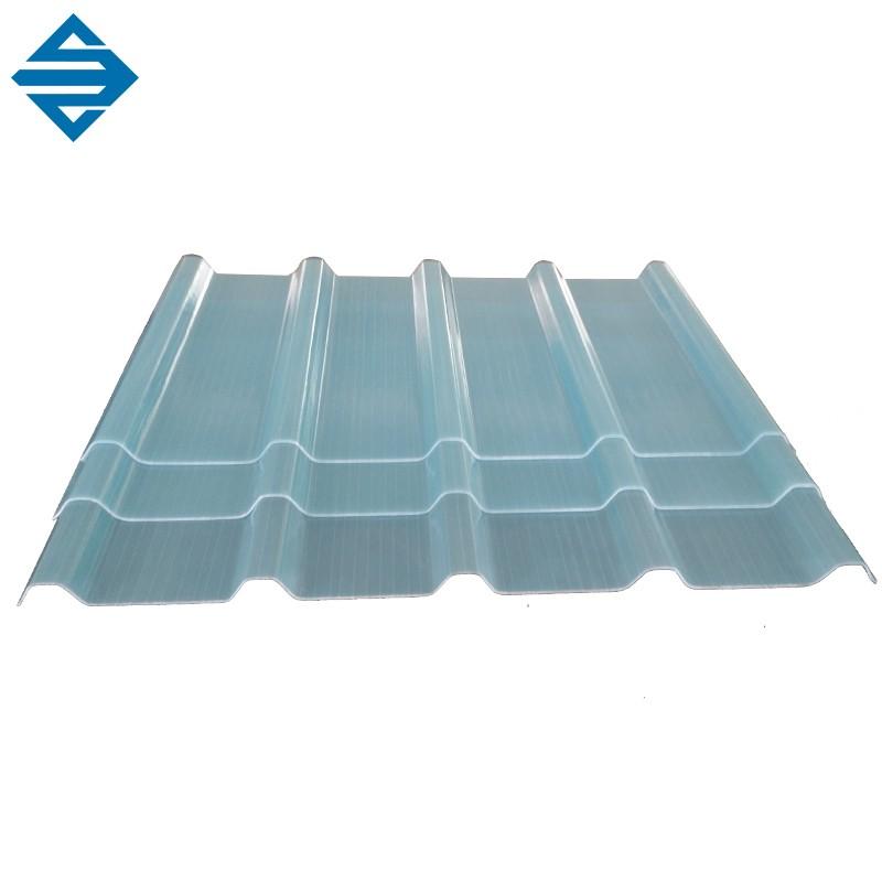 ガラス繊維透明屋根段ボールシート