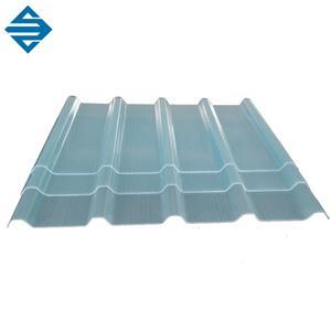 Fiberglass Transparent Roof Corrugated Sheet