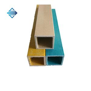 Fiberglass Pultruded Square Pipe Tube Profile
