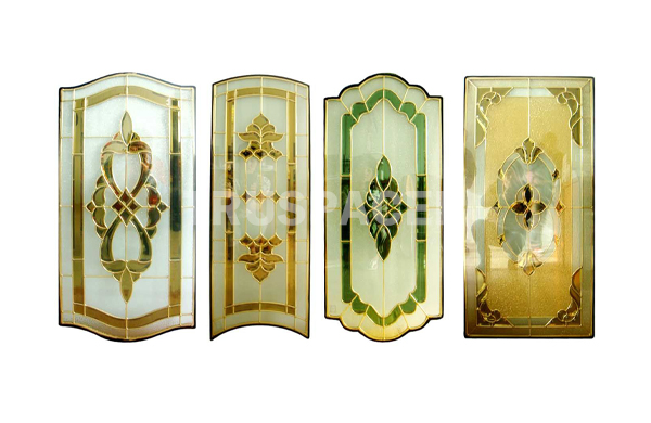 Decoseal for decorative glass