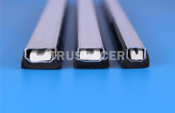 barra de alumínio de vidro oco