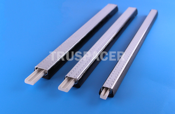 hollow glass aluminum bar