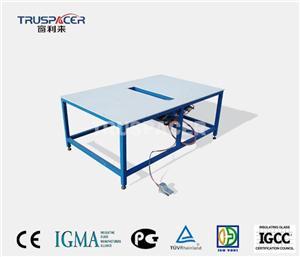 इन्सुलेट ग्लास टिल्टिंग असेंबली टेबल