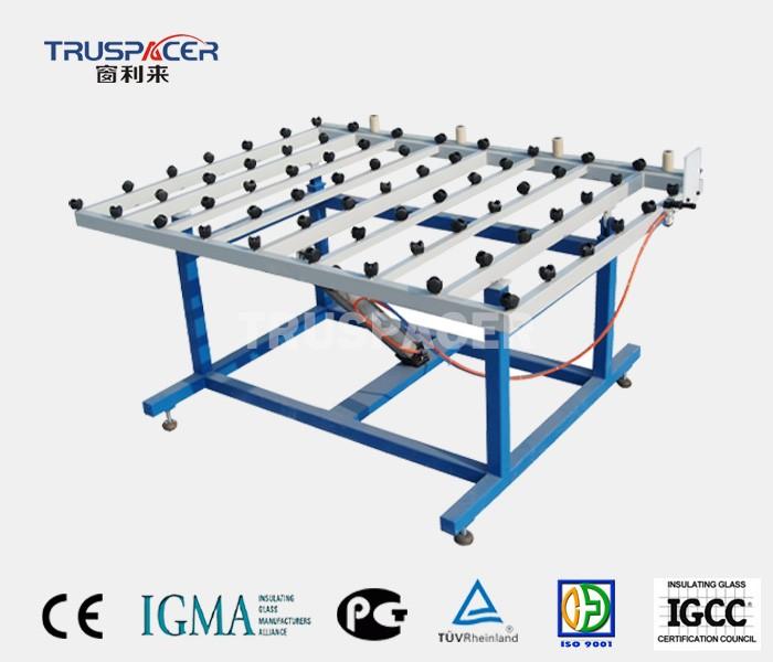 इन्सुलेट ग्लास रोलिंग ओवर टेबल