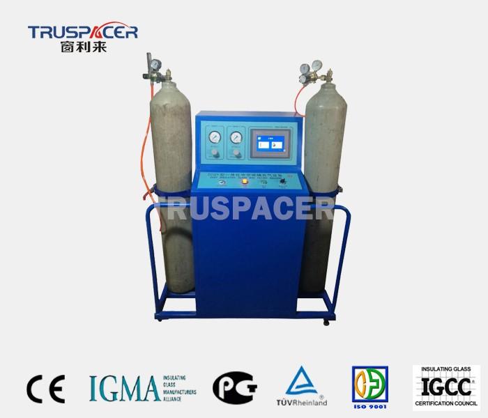 इन्सुलेट ग्लास गैस भरने की मशीन