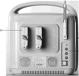 portable color doppler echo machine