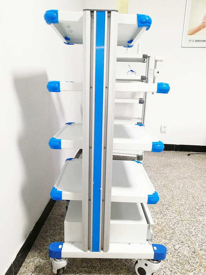 Endoscopic Trolley Manufacturers, Endoscopic Trolley Factory, Supply Endoscopic Trolley