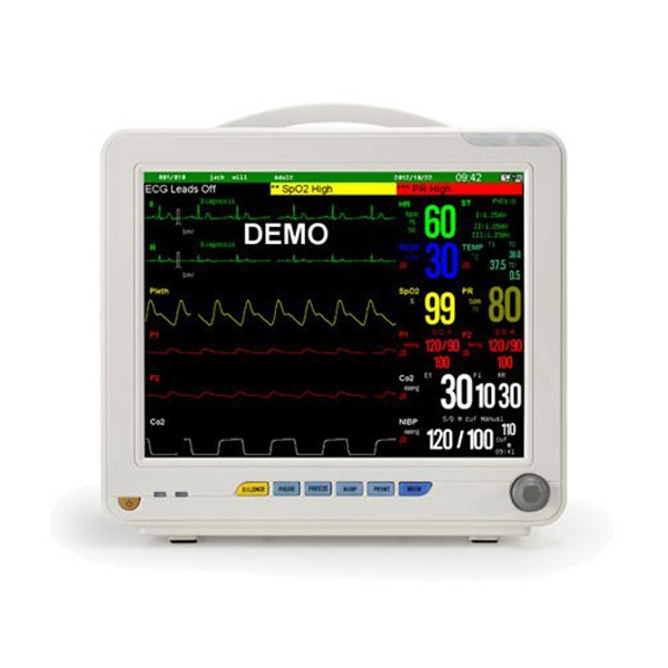 Portable Heart Rate Patient Monitor