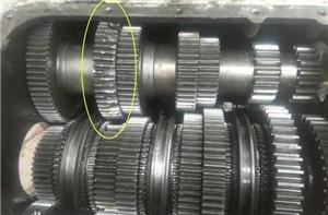 The Cause of the Phenomenon of Gear collision in the Car Reverse Gearbox