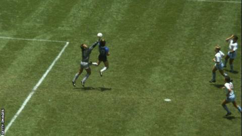 Diego Maradona backs video referees despite 'Hand of God' goal