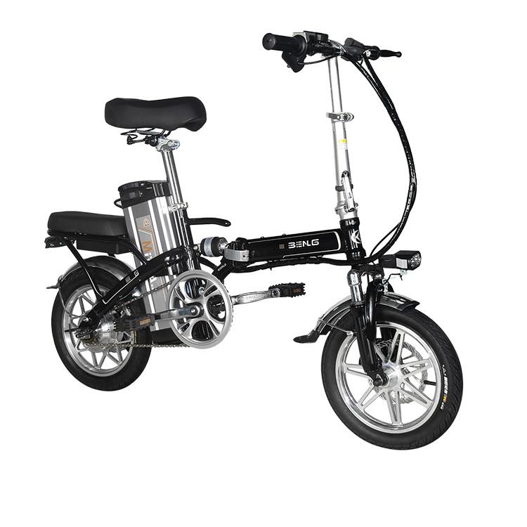 Opvouwbare Mini Ebike
