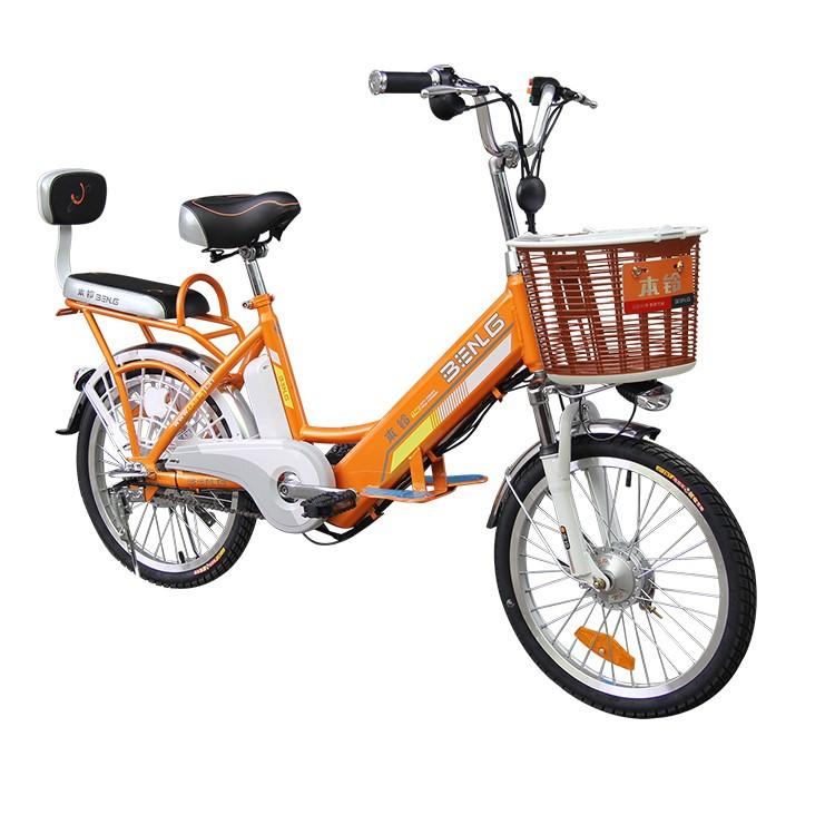 Senior burger E-Bicyle