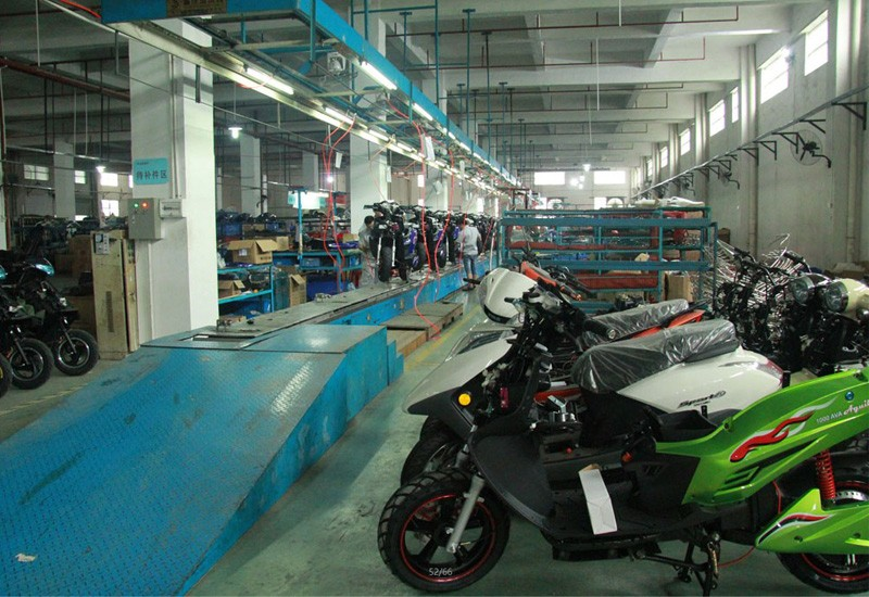 Ligne de production de eBikes BENLG