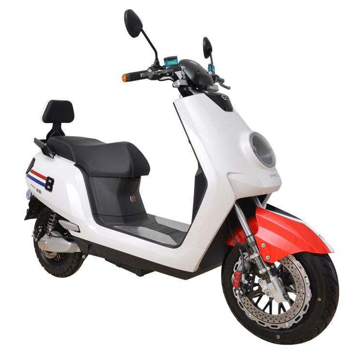 Volwassen elektrische motorfiets