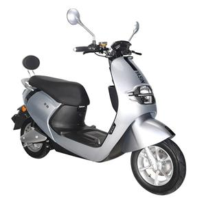 Scooter électrique mignon des femmes